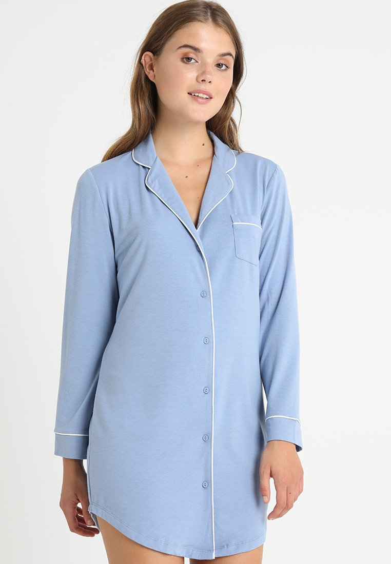 Zalando Essentials - Chemise de nuit / Nuisette - light blue