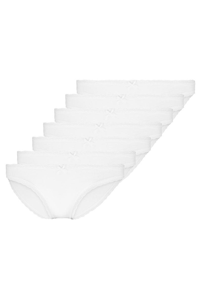 Zalando Essentials - 7 PACK - Trusser - white