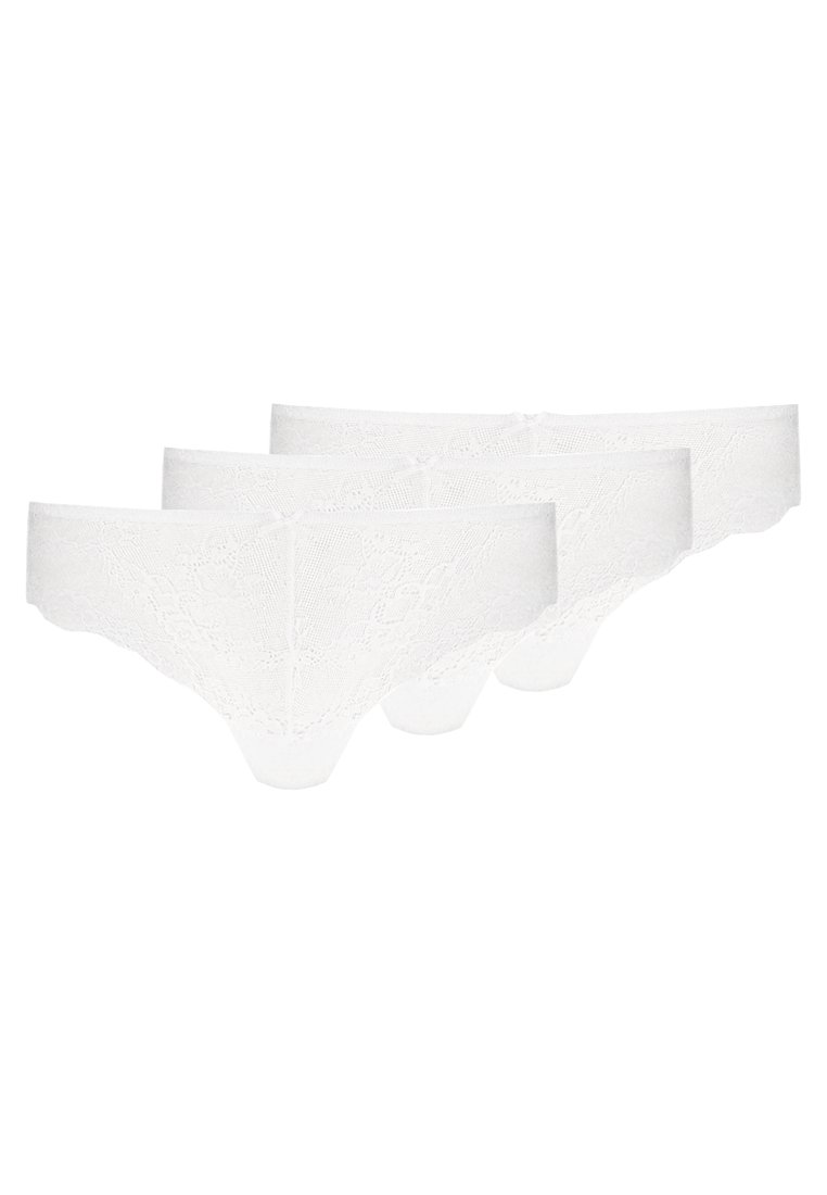 Zalando Essentials - 3 PACK - String - white