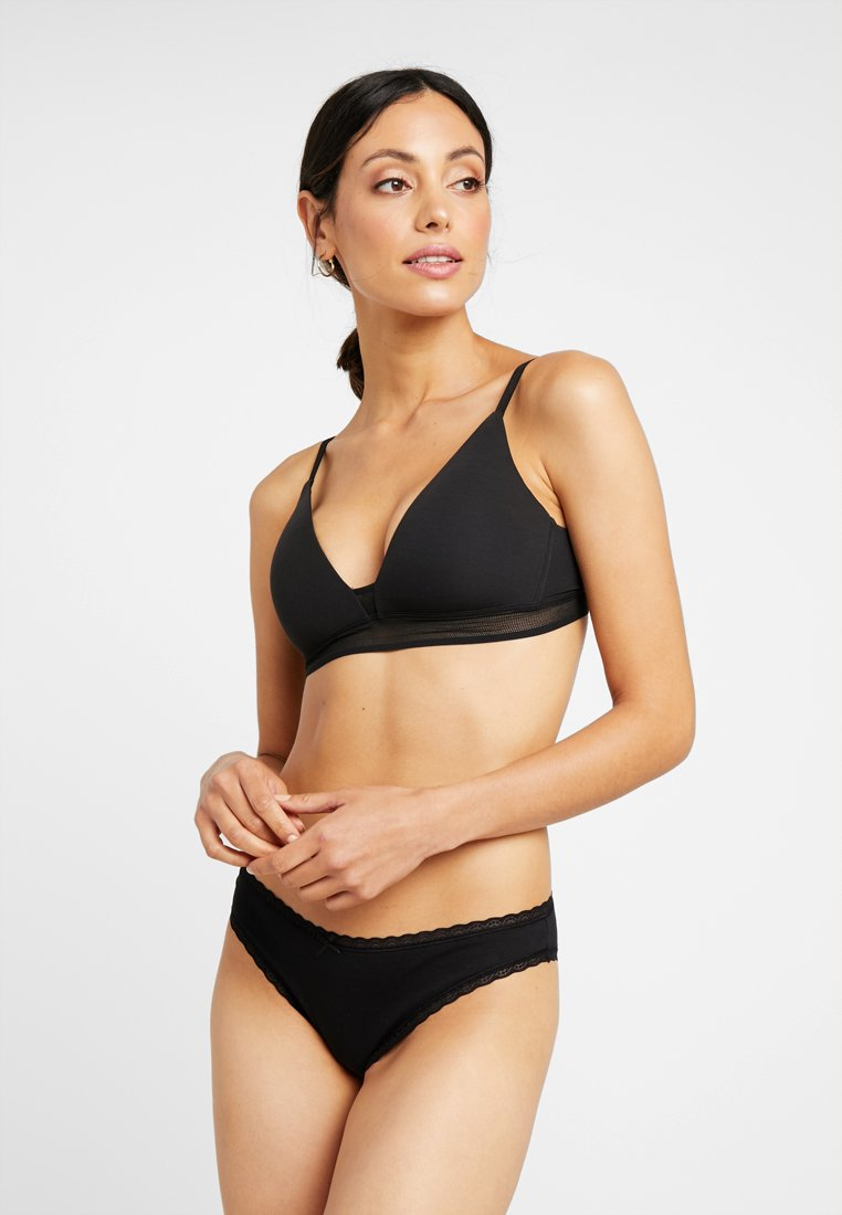 Zalando Essentials - 3 PACK - Slip - black