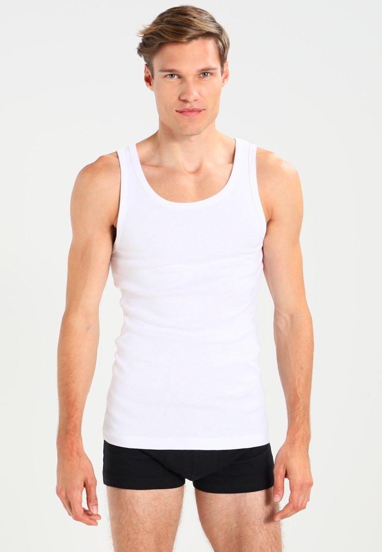 Zalando Essentials - 3 PACK - Unterhemd/-shirt - white