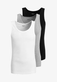 Zalando Essentials - 3 PACK - Maglietta intima - grey/black/white - 6
