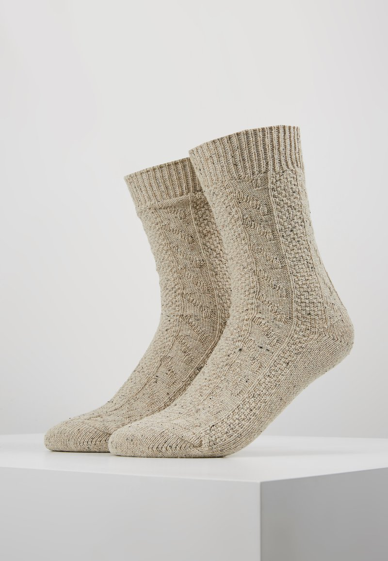Zalando Essentials - 2 PACK - Socks - beige