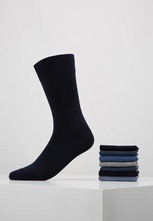 7 PACK - Chaussettes - black/blue/grey