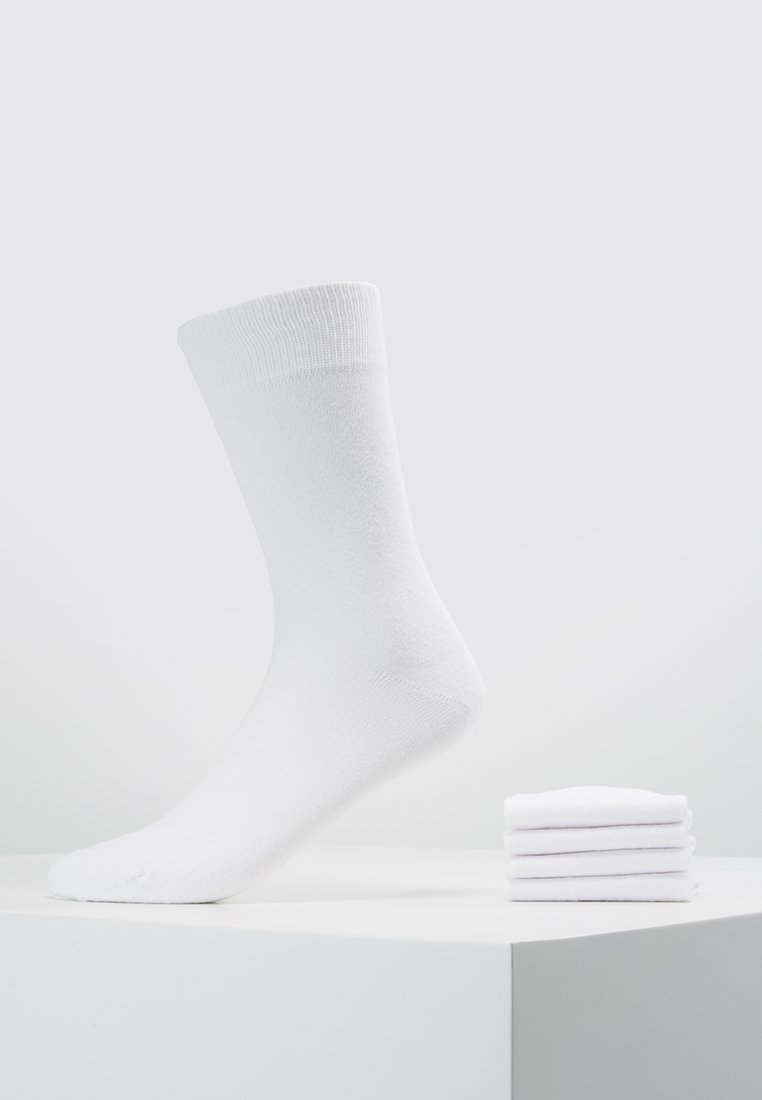 Zalando Essentials - 5 PACK - Strumpor - white