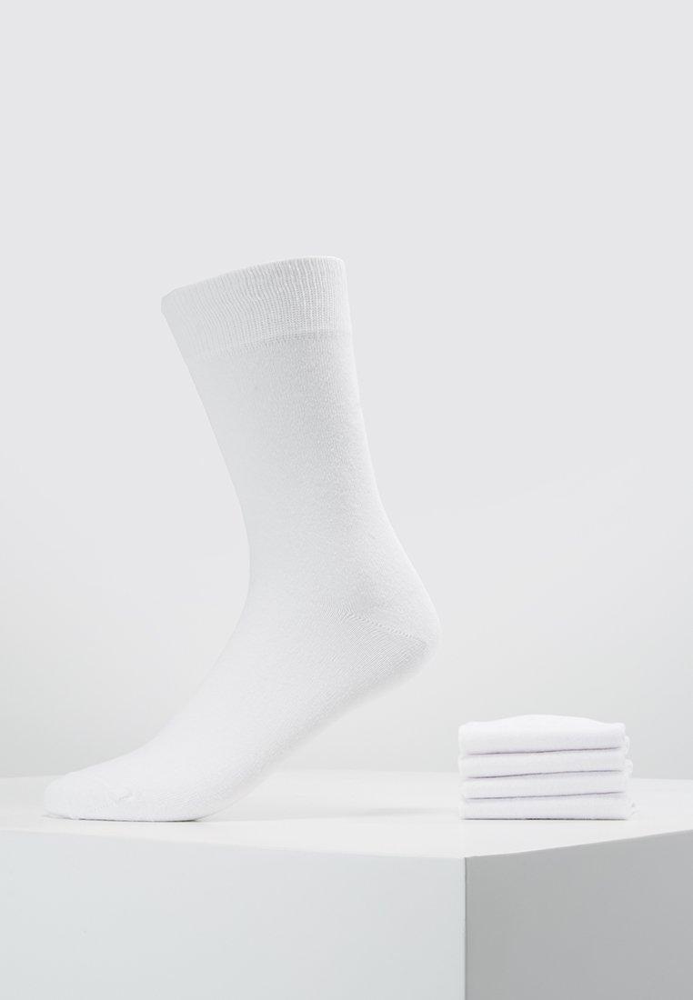 Zalando Essentials - 5 PACK - Socks - white
