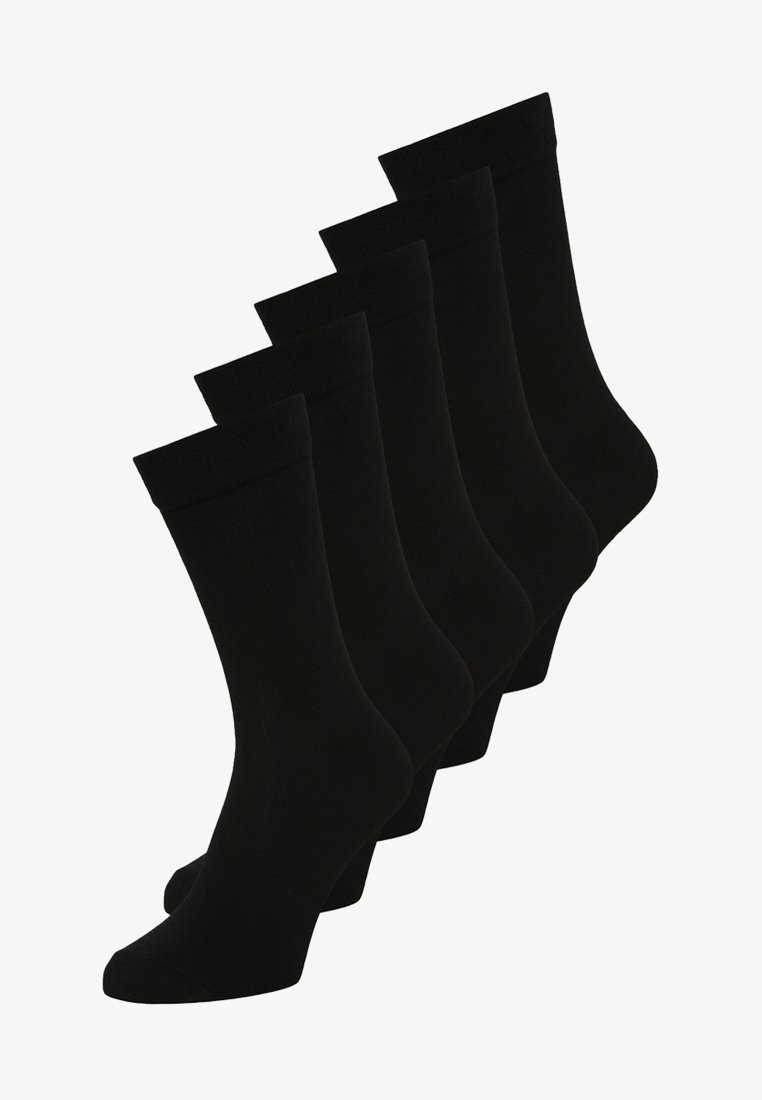 Zalando Essentials - 5 PACK - Sokker - black