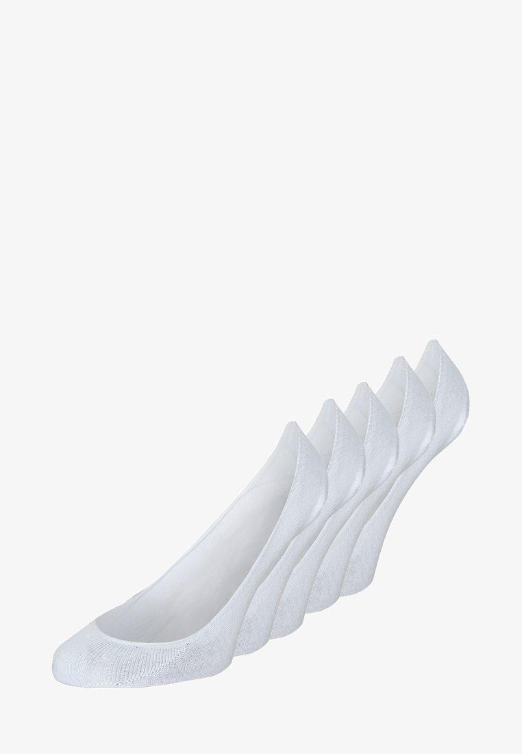 Zalando Essentials - 5 PACK - Trainer socks - white