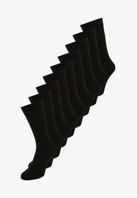 Zalando Essentials - 9 PACK - Socks - black - 0
