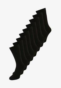 Zalando Essentials - 9 PACK - Strumpor - black - 0