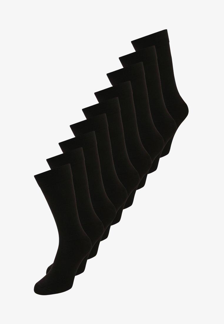 Zalando Essentials - 9 PACK - Calze - black