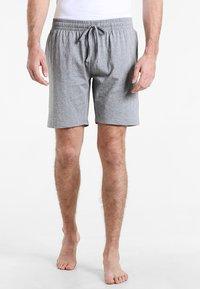 Zalando Essentials - 2 PACK  - Pyjamasbyxor - grey/blue - 1