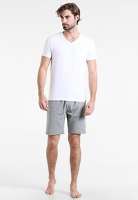Zalando Essentials - 2 PACK  - Pyjamasbyxor - grey/blue - 0