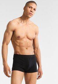 Zalando Essentials - 3 PACK - Pants - black - 0