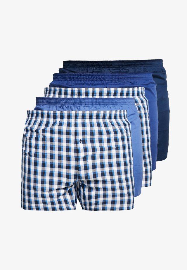 5 PACK - Boxershorts - blue