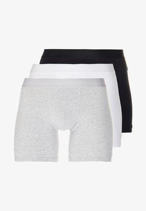 3 PACK - Culotte - grey/white/black