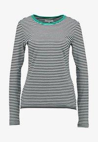 Zalando Essentials Tall - Bluzka z długim rękawem - white/black/green - 4