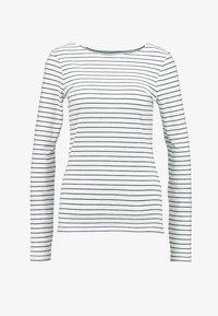Zalando Essentials Tall - Top sdlouhým rukávem - offwhite/dark blue - 4