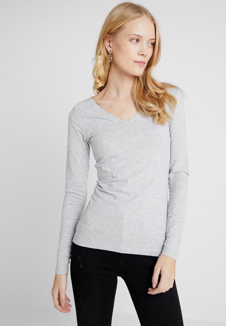 Zalando Essentials Tall - Langærmede T-shirts - mottled light grey