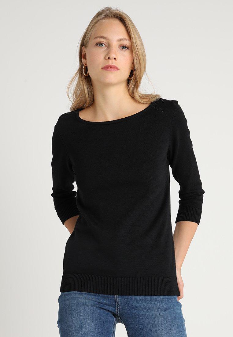 Zalando Essentials Tall - Strickpullover - black