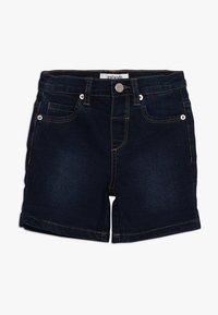 Zalando Essentials Kids - Denim shorts - dark blue denim - 0