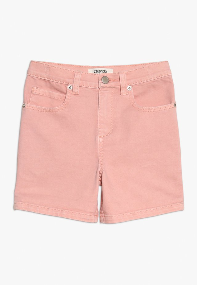 Denim shorts - peach amber