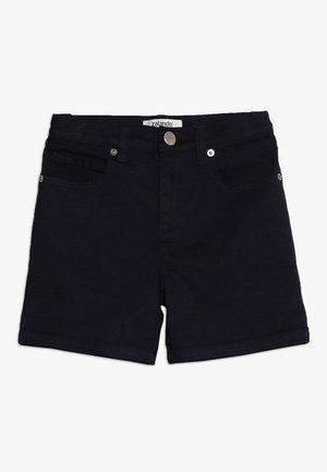 Denim shorts - peacoat