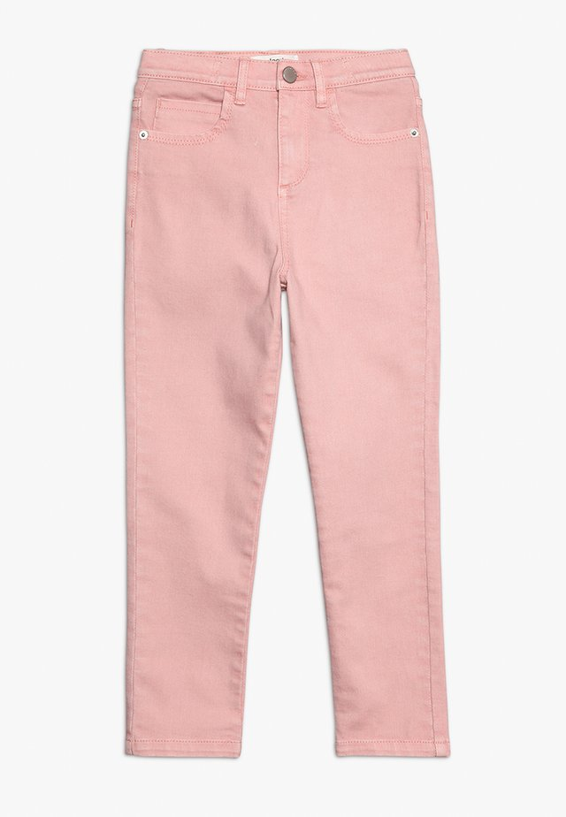 Jeansy Skinny Fit - Silver Pink