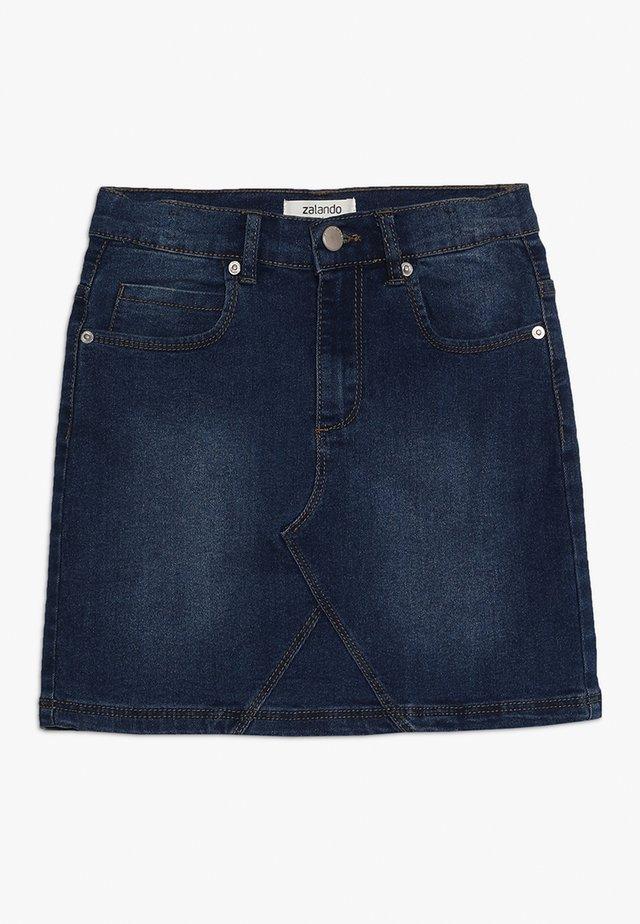 Denimová sukně - dark blue