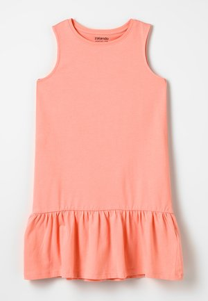 Jerseykleid - peach amber