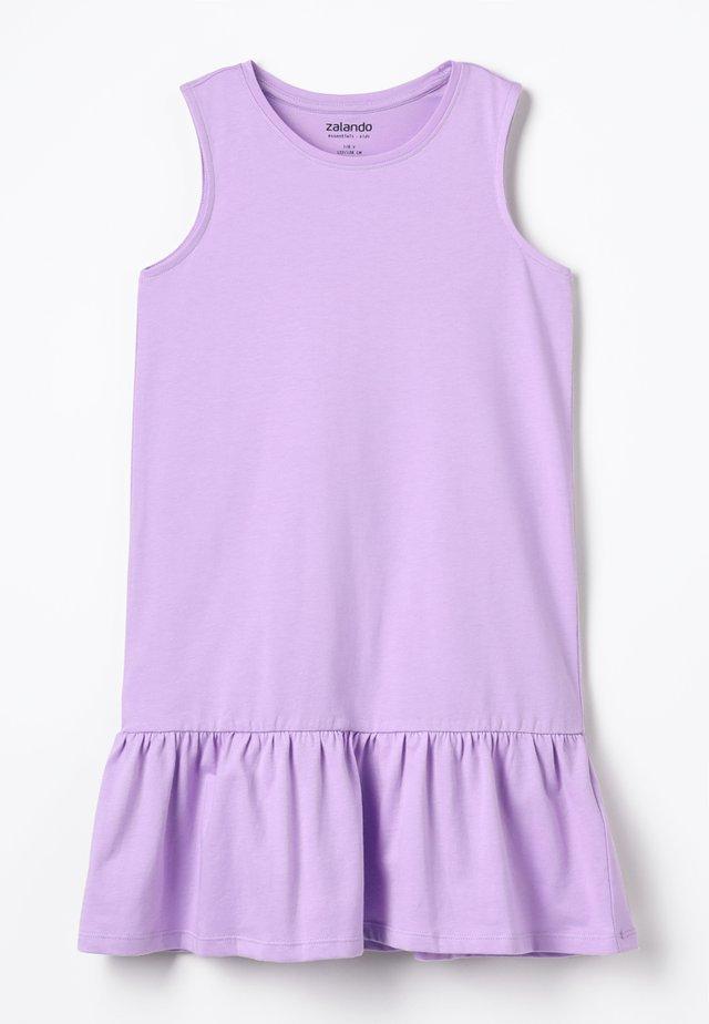 Žerzejové šaty - lavendula