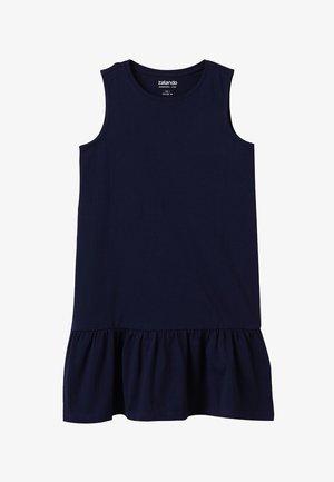 Jersey dress - peacoat