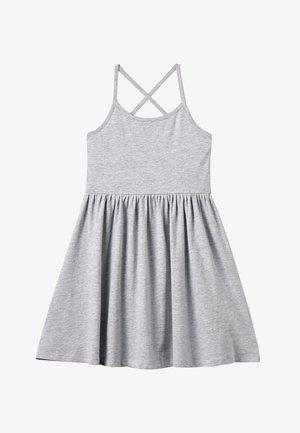 Jerseyklänning - mottled light grey