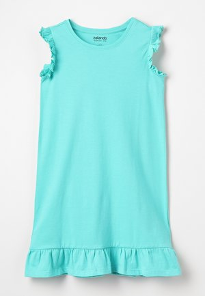 Jerseykleid - turquoise
