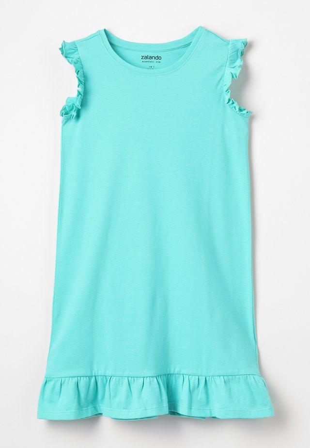 Žerzejové šaty - turquoise