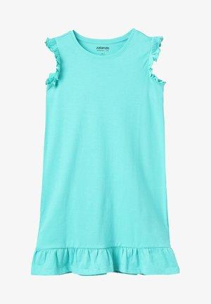 Jerseyklänning - turquoise