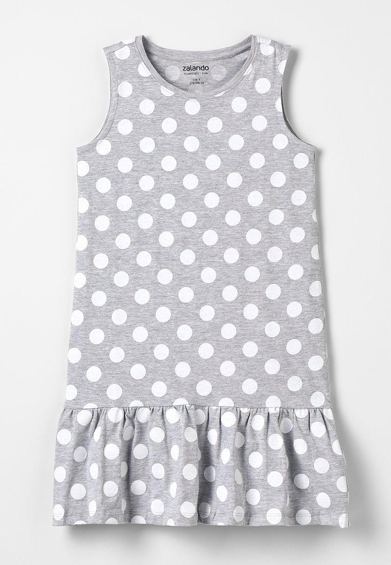 Zalando Essentials Kids - Vestito di maglina - mottled light grey