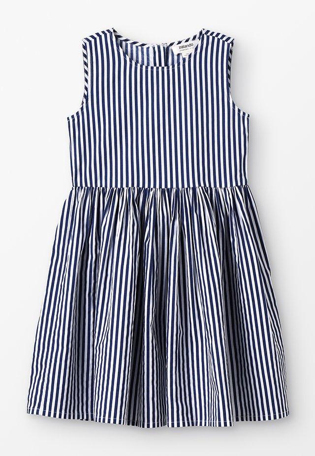 Sukienka letnia - peacoat/offwhite