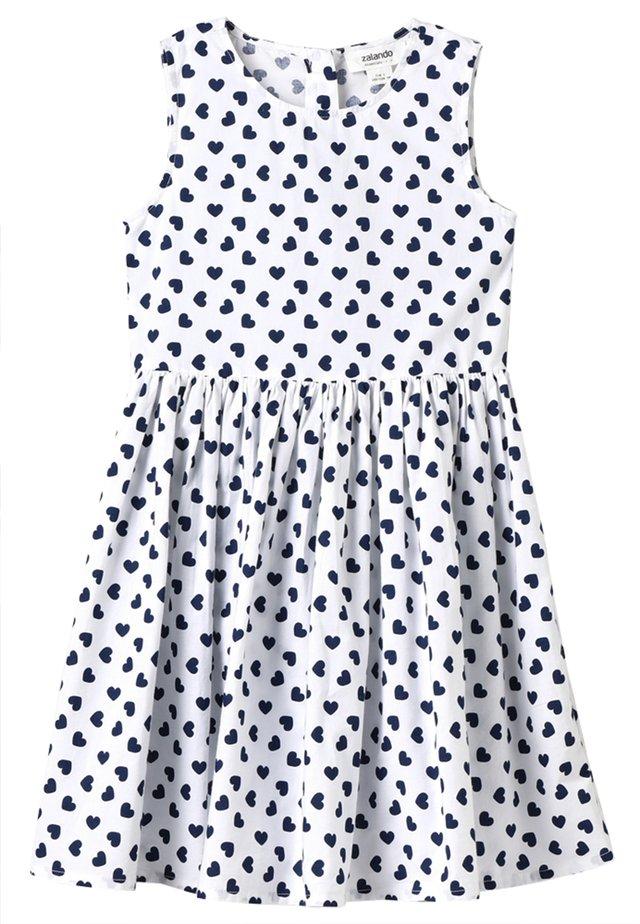 Day dress - peacoat/white
