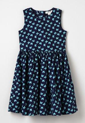 Korte jurk - aruba blue