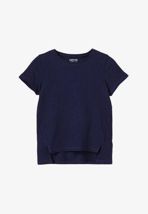 T-shirt med print - peacoat