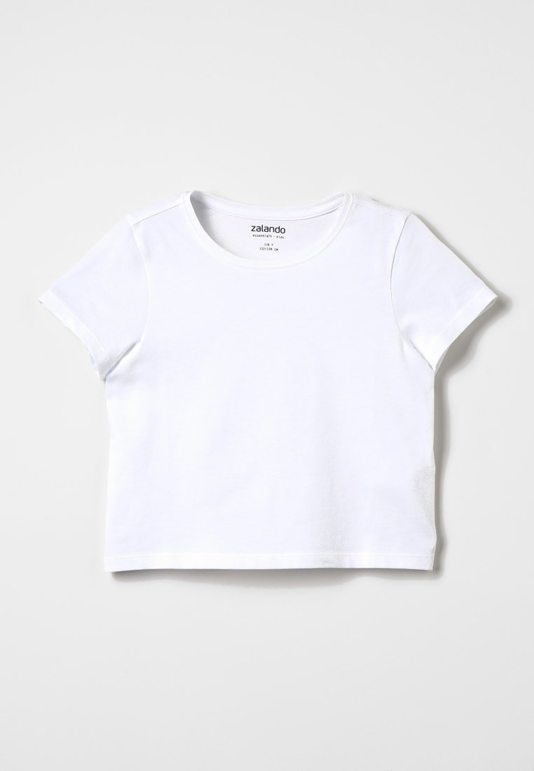 Zalando Essentials Kids - Camiseta básica - white