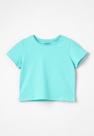 Jednoduché triko - turquoise