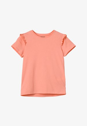 T-shirt con stampa - peach amber