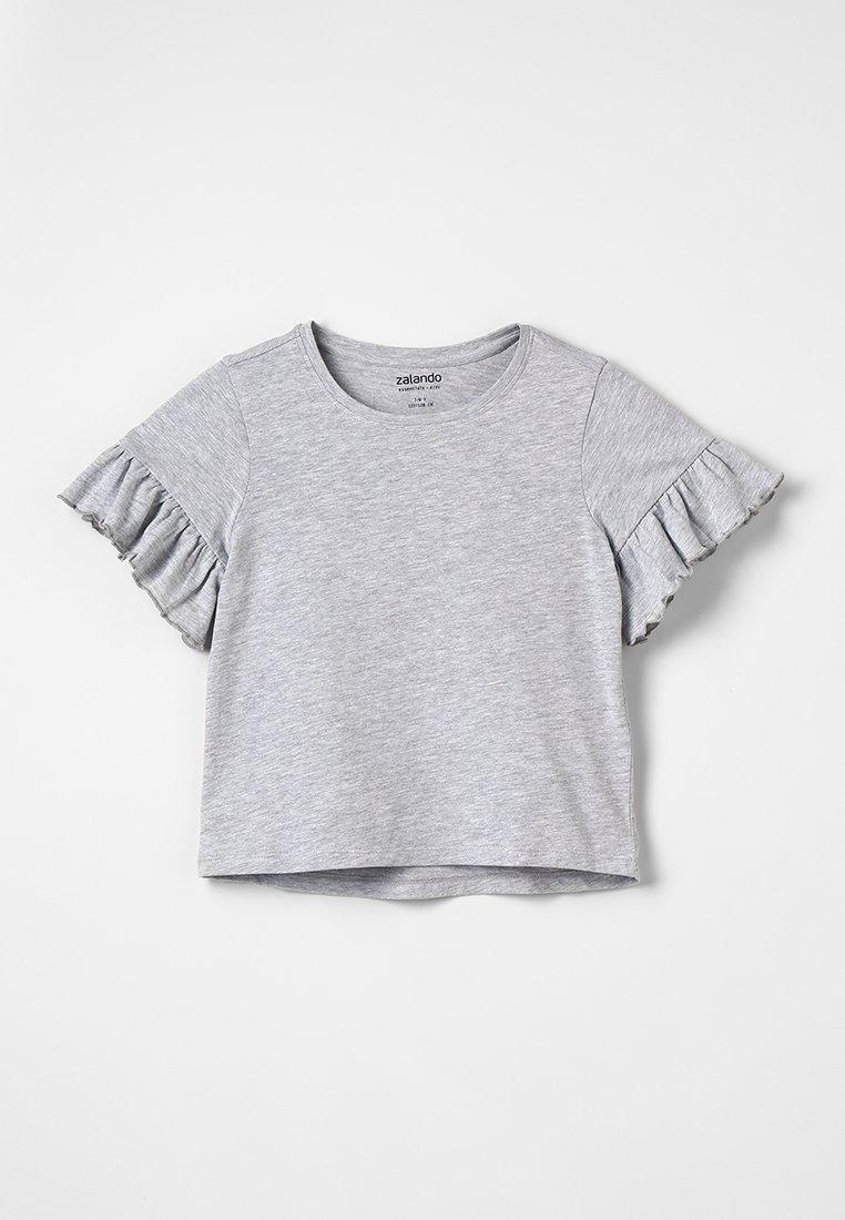Zalando Essentials Kids - Basic T-shirt - mottled light grey