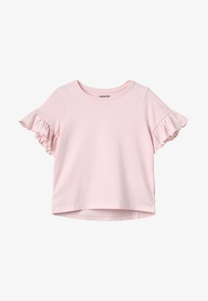 T-shirt basic - powder rose