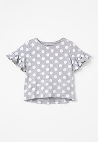 Zalando Essentials Kids - Print T-shirt - mottled light grey - 0
