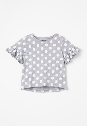 Printtipaita - mottled light grey