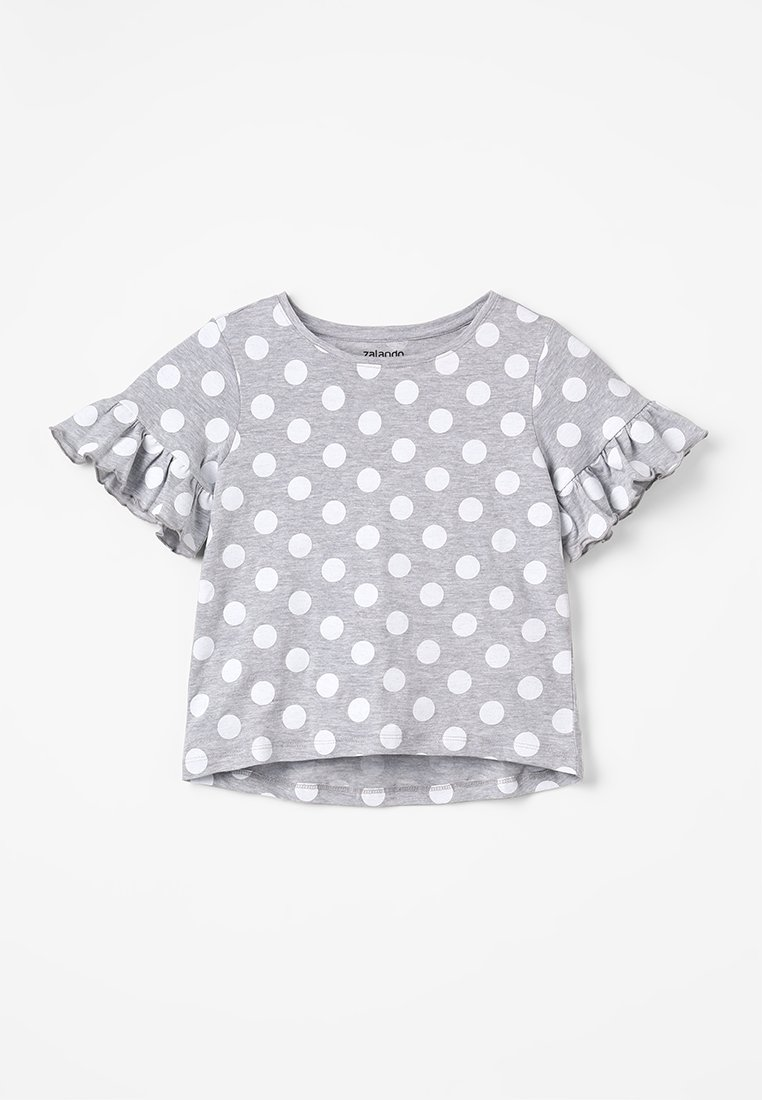 Zalando Essentials Kids - Print T-shirt - mottled light grey