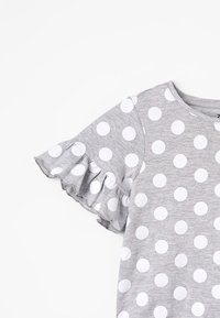 Zalando Essentials Kids - Print T-shirt - mottled light grey - 4